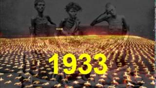 Memorial service for Holodomor victims 1932-1933 (in Ukrainian)
