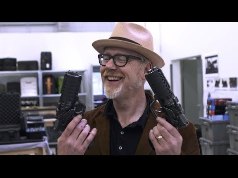 Adam Savage Examines the Blade Runner 2049 Blasters!