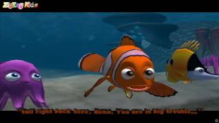 Finding Nemo | Episode 2 Drop Off & Mask Chase | À Procura de Nemo Disney | ZigZag Kids HD