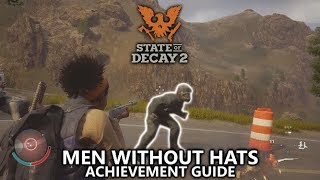State of Decay 2 - Men Without Hats Achievement Guide - You shot the helmet off an armored zombie