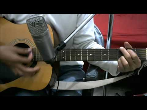 Tere Bin - ATIF ASLAM - SIMPLE COMPLETE GUITAR COVER LESSON CHORDS EASY