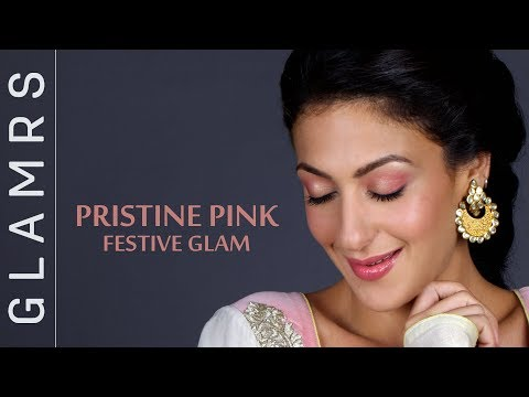 Festive Pink & Gold Makeup Look for Indian Skin | Makeup for Indian Weddings/ Festivals