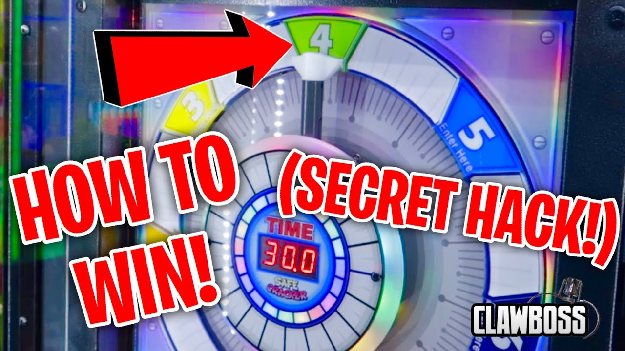 SAFE CRACKER ARCADE GAME HACK! 100% WIN RATE | ClawBoss