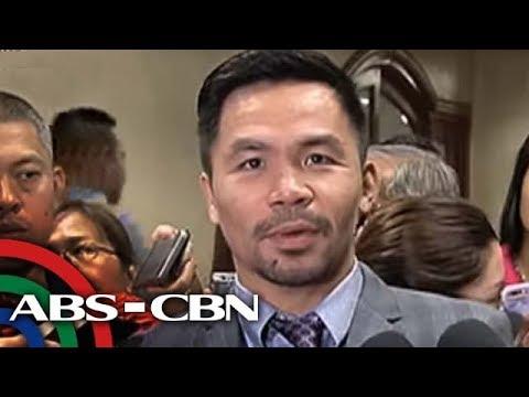 TV Patrol: Internet personality, itinangging siya ang unang kumausap kay Pacquiao