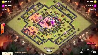 Clash of Clans | Clan War - Lavaloon Healer Queen by The Joker _THAILAND HERO