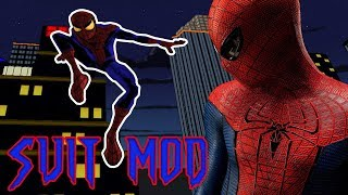 Ultimate Spider-Man AMAZING SPIDERMAN SUIT MOD (PC Gameplay)
