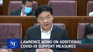 [FULL] Finance Minister Lawrence Wong addresses Parliament on Covid-19 support measures | ST Live