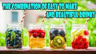 Kombinace snadno vyrobených a krásných nápojů | The combination of easy to make and beautiful drinks