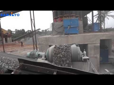 Nigeria Crushing Production Line Scene