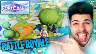 ¡¡FORTCRAFT NUEVO BATTLE ROYALE MOVIL!! MI OPINION SOBRE LA COPIA DE FORTNITE MOVIL | MattsinLife