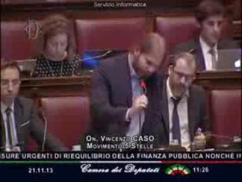 VINCENZO CASO (m5s) denuncia gli scandali di EXPO 2015