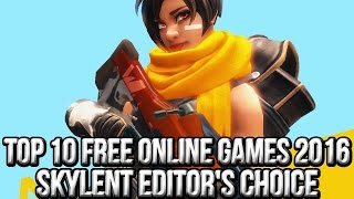 Top 10 Free Online Games 2016 | Skylent Shore Editor's Choice(http://www.freemmostation.com/ Go to http://lootcrate.com/freemmostation and use the code: freemmostation at checkout to get 10% off your subscription! Yay!, 2016-09-07T15:29:47.000Z)