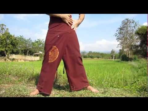 How To Tie - Thai Fisherman Wrap Pants