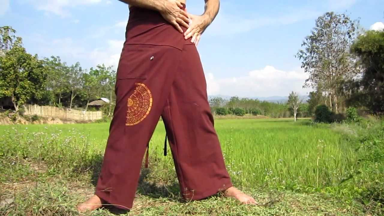 How to wear and make wrap pants catalog photo