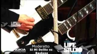 Si Mi Delito Es Rockear - Moderatto [Nokia Live Studio]