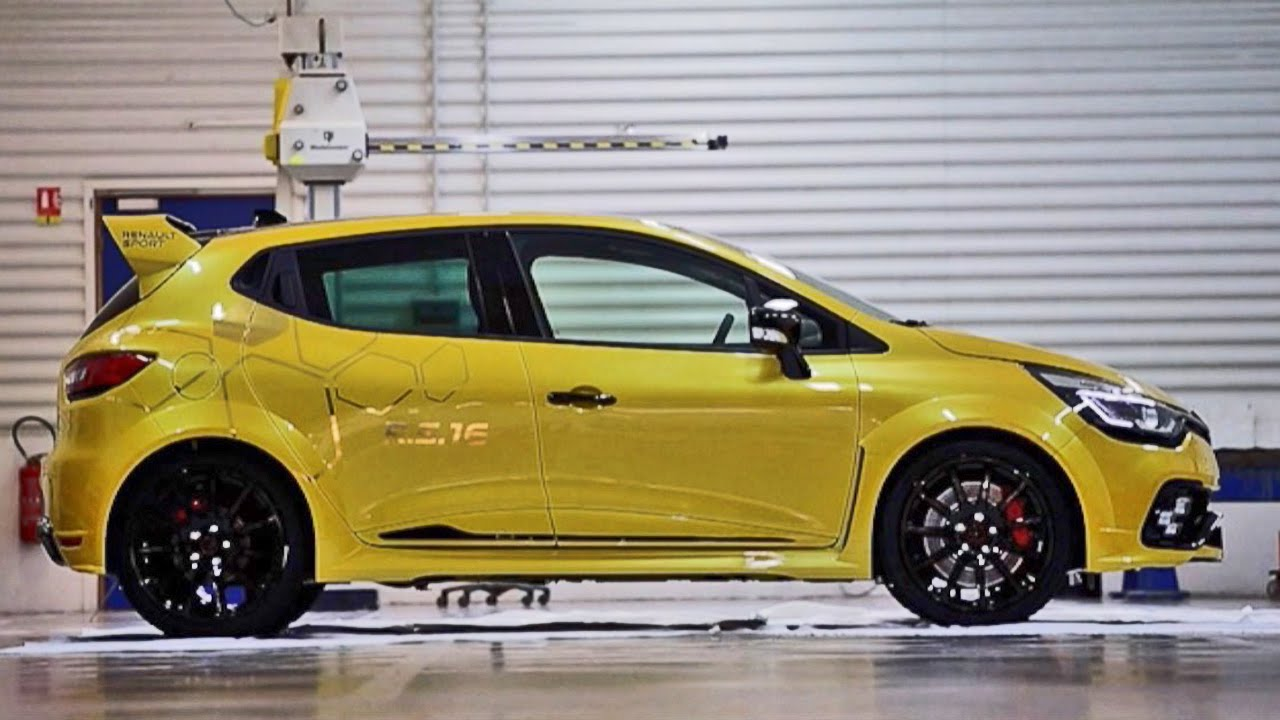 2016 renault clio r s 16 concept 275hp youtube. Black Bedroom Furniture Sets. Home Design Ideas
