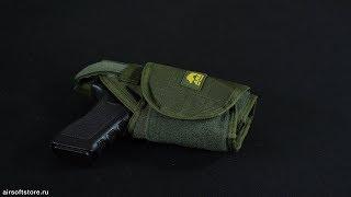 Обзор универсальной MOLLE кобуры от ANA Tactical
