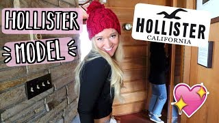 Shooting as a Hollister Model?! Behind the Scenes!! AlishaMarieVlogs