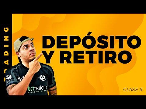 DEPOSITAR Y RETIRAR Dinero Betfair