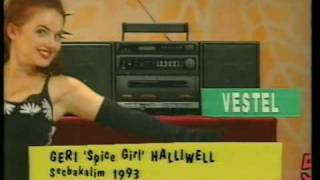 Geri Halliwell (Spice Girls) 1993 Secbakalim Turkish gameshow