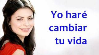 Miranda Cosgrove - Leave it all to me - Subtitulada en español