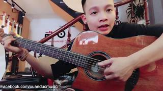 [Hướng dẫn Guitar] Để cho anh khóc - Tone nam
