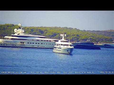 Archived recording from 26.Aug.2016. - Mega Yachts