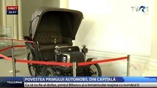 Povestea primului automobil înmatriculat în Bucureşti
