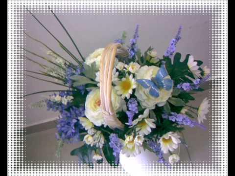 Букет из искусственных цветов своими руками фото 479