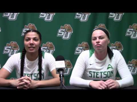 Women's Basketball - Deasia Beal & Ida Andersson   - 01/21/17