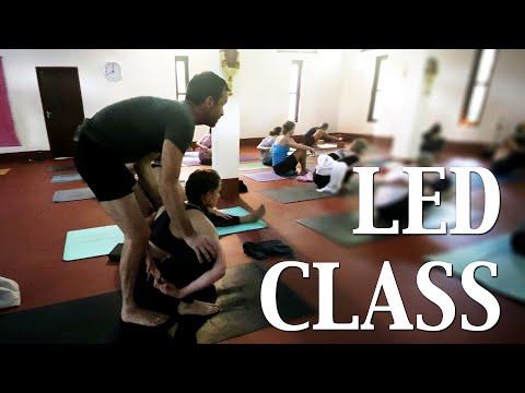 Led Class With Scott Johnson   Ashtanga Yoga