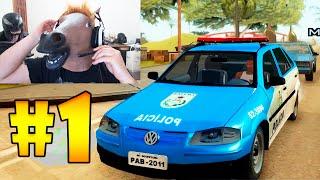 GTA SAN ANDREAS ULTRA HD #1 Golzinho da Policia Modo Campanha (legendas em Português)