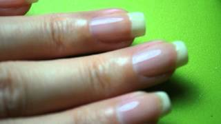 Sparkly American Manicure Tutorial