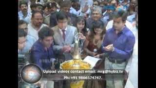 Actors Prithviraj & Shivraj Kumar inaugurated showroom of Kalyan SIlks, Bangalore
