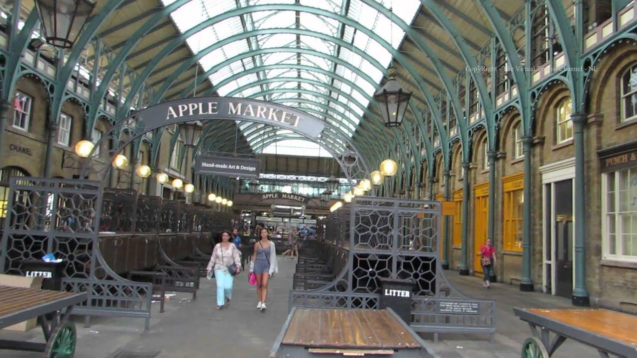 Garden Walk London: Walk Around Covent Garden Market In London 2