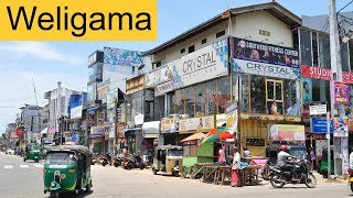 The Town of Weligama Sri Lanka