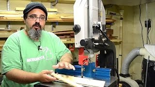 511 Resawing On The Bandsaw