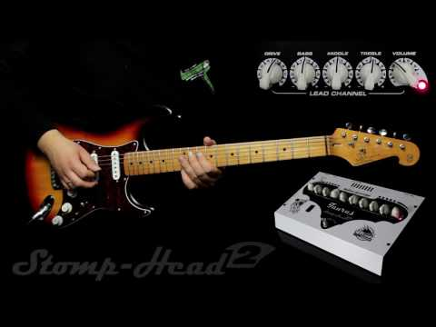 Taurus Stomp Head 2.CL :: Demo, Soundcheck (Strat crunch & clean)