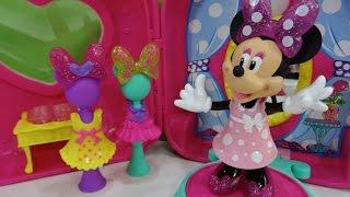 Minnie Mouse Bow-tique Tienda-maletín de Minnie Minnie
