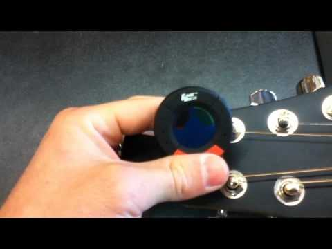ABC Music rmore  Product Demo  The ORB Tuner!
