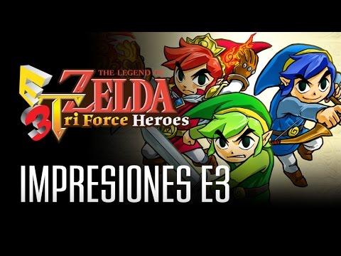 Zelda: Tri Force Heroes - La sorpresa de Nintendo en el E3 2015