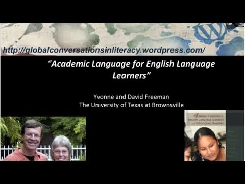 Yvonne Freeman & David Freeman - Academic Language for English Language Learners
