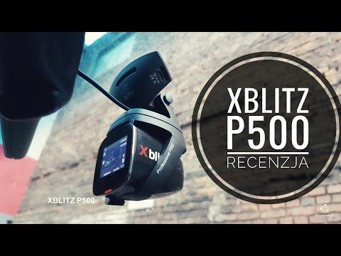 Wideorejestrator Xblitz P500 Recenzja test