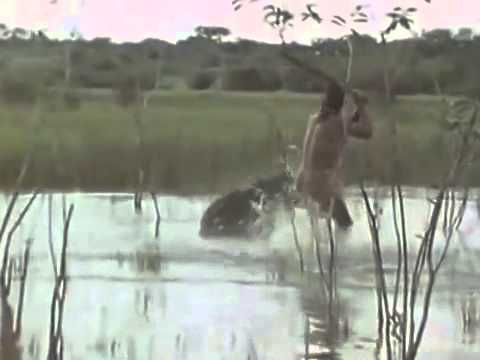 Amazon Indians hunting peccary, tapir, deer and monkey 2015 full espiode