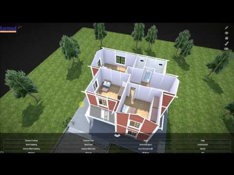 3d  Home Design | Preabricated Houses | Low Cost Housing