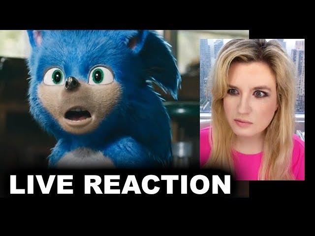 Sonic The Hedgehog Movie Trailer Reaction