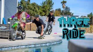 "Dirt Shark - ""Three Ride"" ft. Pat Casey, Axell Hodges, Trey Wood"