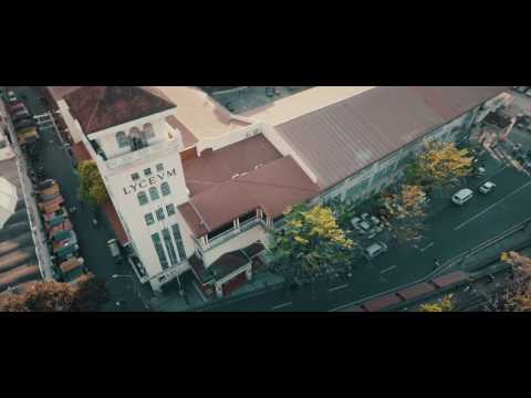 Lyceum of the Philippines University drone shot