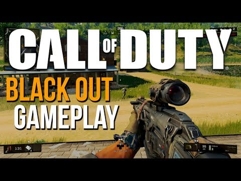 Blackout First Game! Call of Duty Black Ops 4 Gameplay
