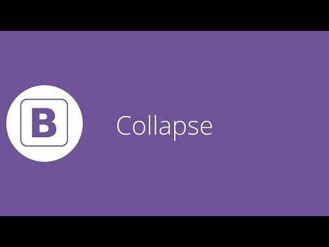 Bootstrap tutorial 19 - Collapse